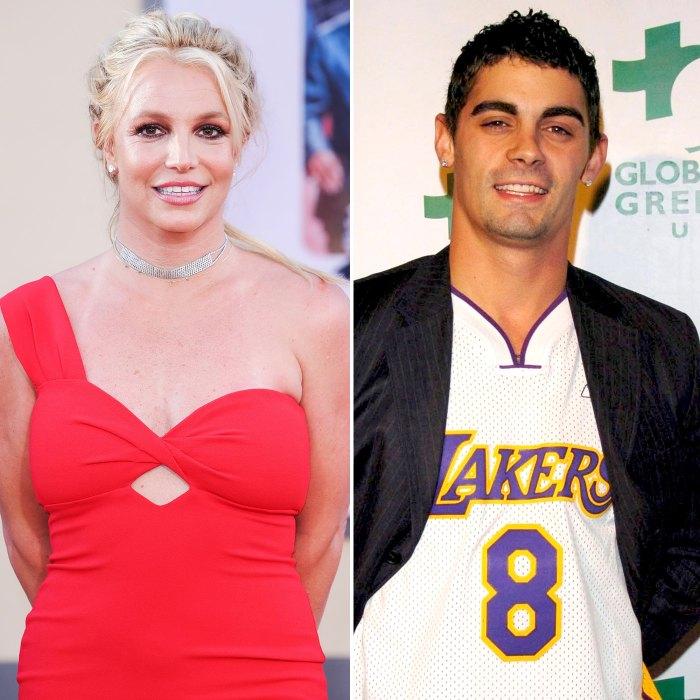 Britney Spears Ex-Husband Jason Alexander Attends FreeBritney Protest