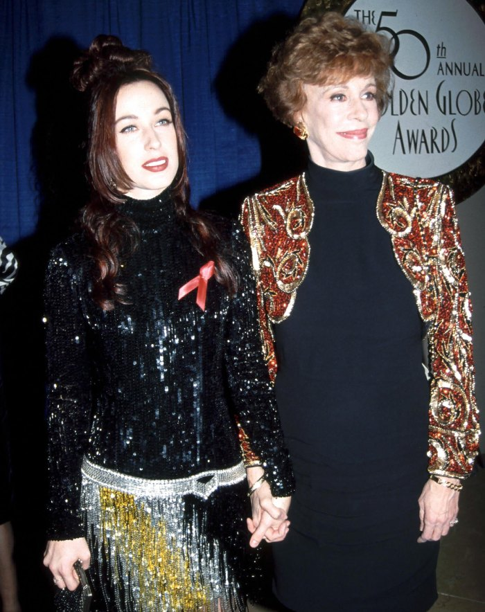 Carol Burnett Seeks Guardianship Of Grandson Amid Daughter S Addiction Erin grew up as one of three hamilton sisters. carol burnett seeks guardianship of