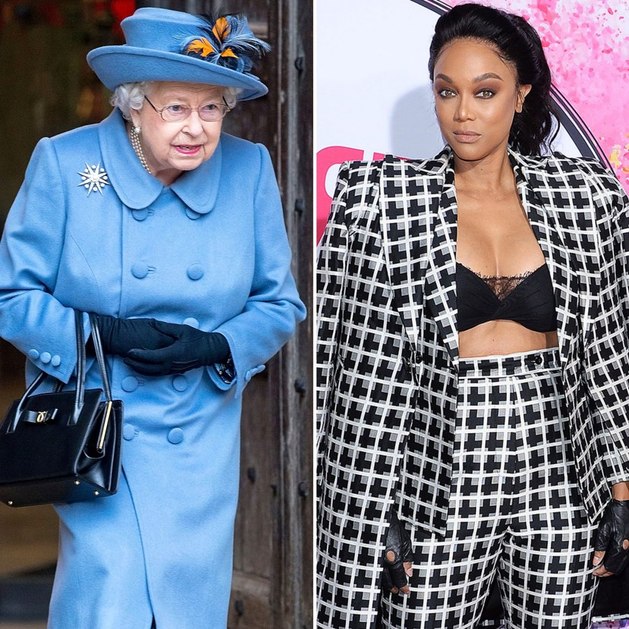 See What Foods Queen Elizabeth Tyra Banks Hate