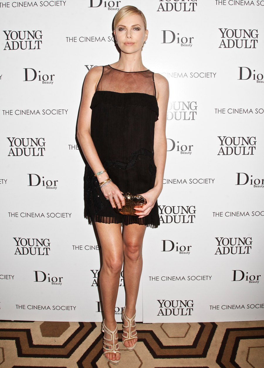 Charlize Theron All-Time Best Fashion Moments Young Adult 2011