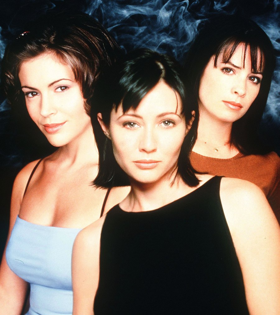 Alyssa Milano Shannen Doherty Holly Marie Combs on Charmed Charmed Drama Timeline
