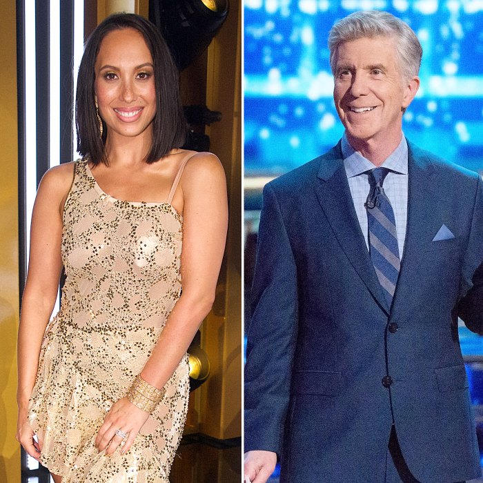 Cheryl Burke Says Tom Bergeron Super Positive After DWTS Exit