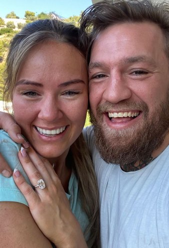 Details on the Beautiful Engagement Ring Conor McGregor Gave to Dee Devlin