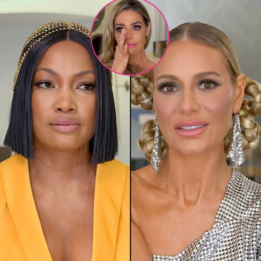 Denise Richards Walks Out of 'RHOBH' Reunion, Accuses Andy Cohen of Discrediting Her