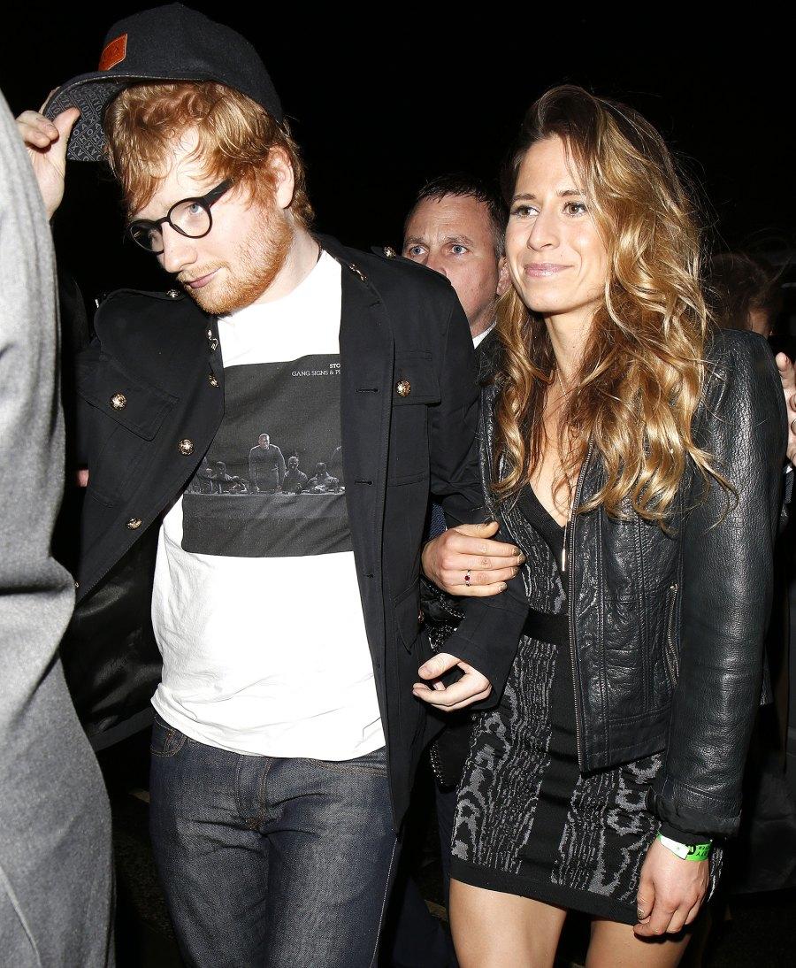 Ed Sheeran and Cherry Seaborn expecting