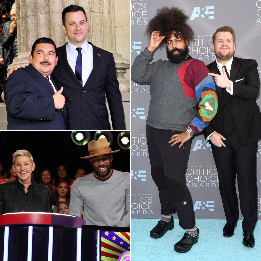Famous TV Hosts and Their Sidekicks