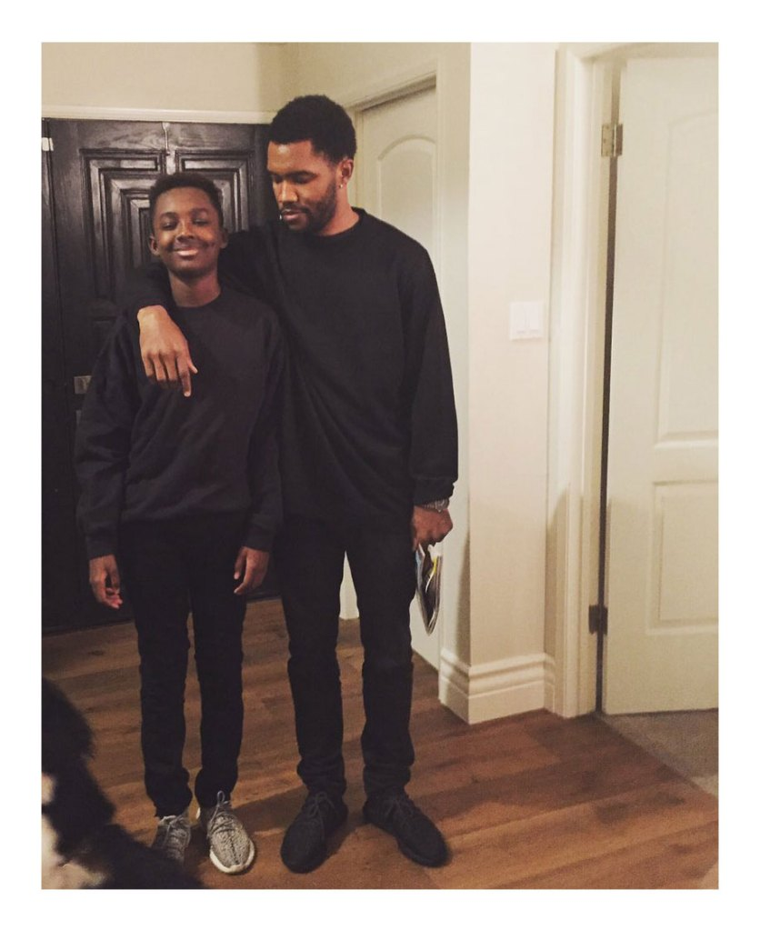 Frank Ocean Brother Ryan Breaux Dead at 18 After Car Accident