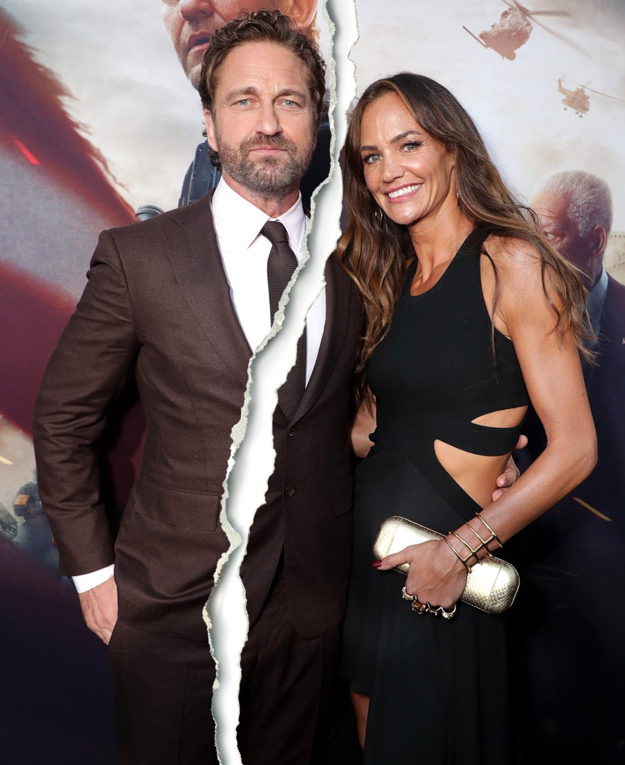 Gerard Butler and Girlfriend Morgan Brown Split After Nearly 7 Years Together