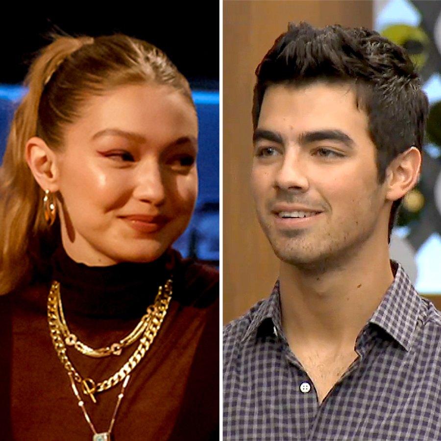 Gigi Hadid Joe Jonas Celebs on Cooking Shows