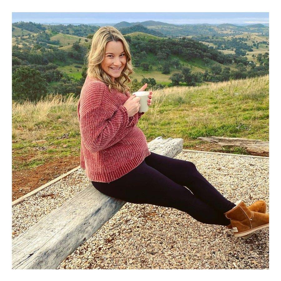Hannah Ferrier Instagram Inside Pregnant Celeb Babymoons