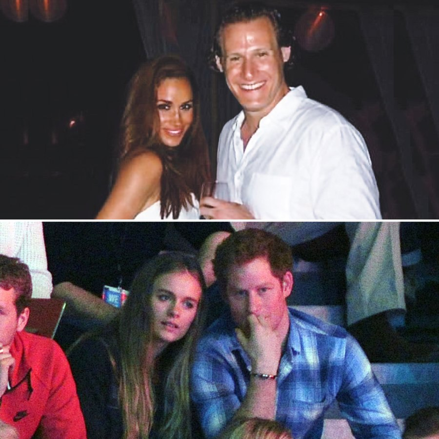 Harry and Meghan's Exes