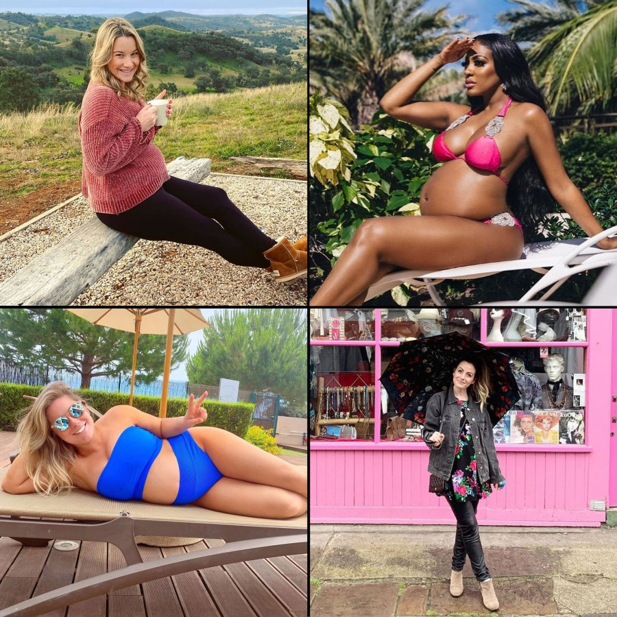 Inside Pregnant Celeb Babymoons