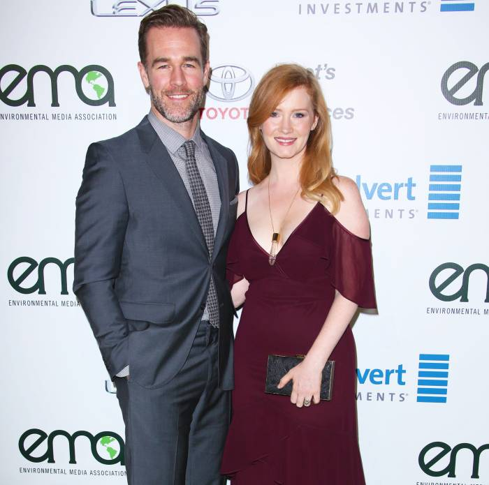 James Van Der Beek Celebrates 10-Year Wedding Anniversary With Wife Kimberly