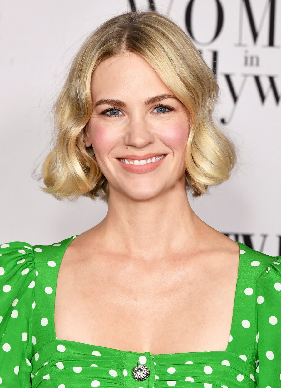 January Jones Now Has Pink Hair and It Looks Amazing