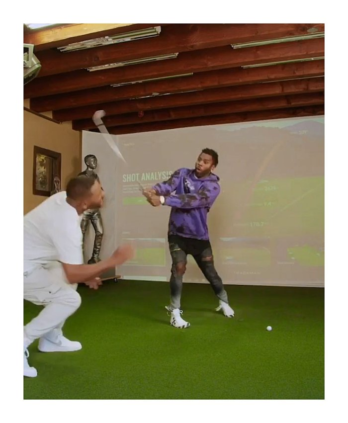 Jason Derulo Knocks Will Smith Teeth Out With a Golf Club in Prank Video