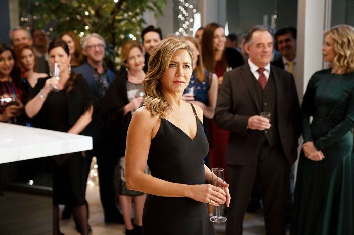 Jennifer Aniston Says Filming The Morning Show Was a Cathartic Experience