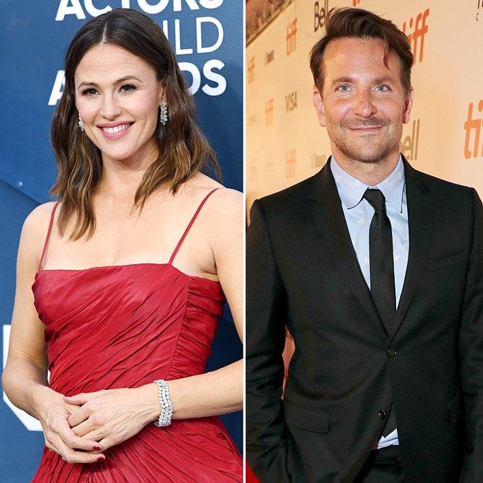 Jennifer Garner Bradley Cooper Enjoy Fun-Filled Day at Malibu Beach