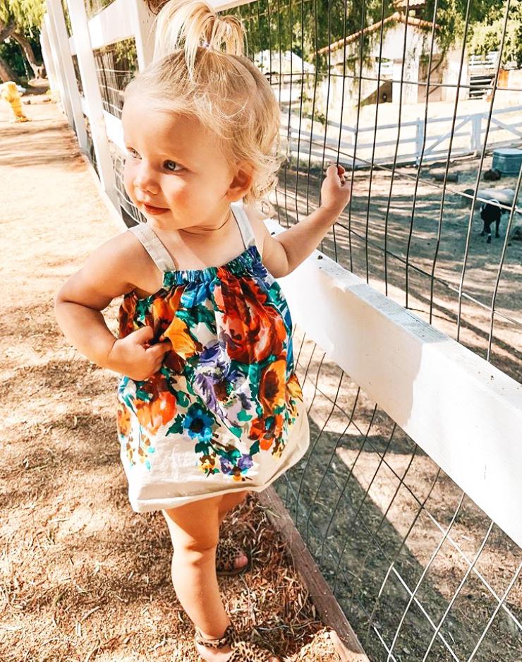 Jessica Simpson And Eric Johnsons Daughter Birdies Cutest Pictures