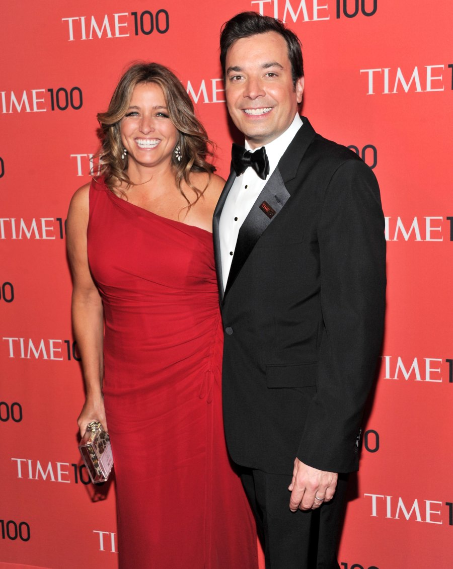 Jimmy Fallon And Nancy Juvonen Celebrity Couples And How They First Met Love Story Beginnings