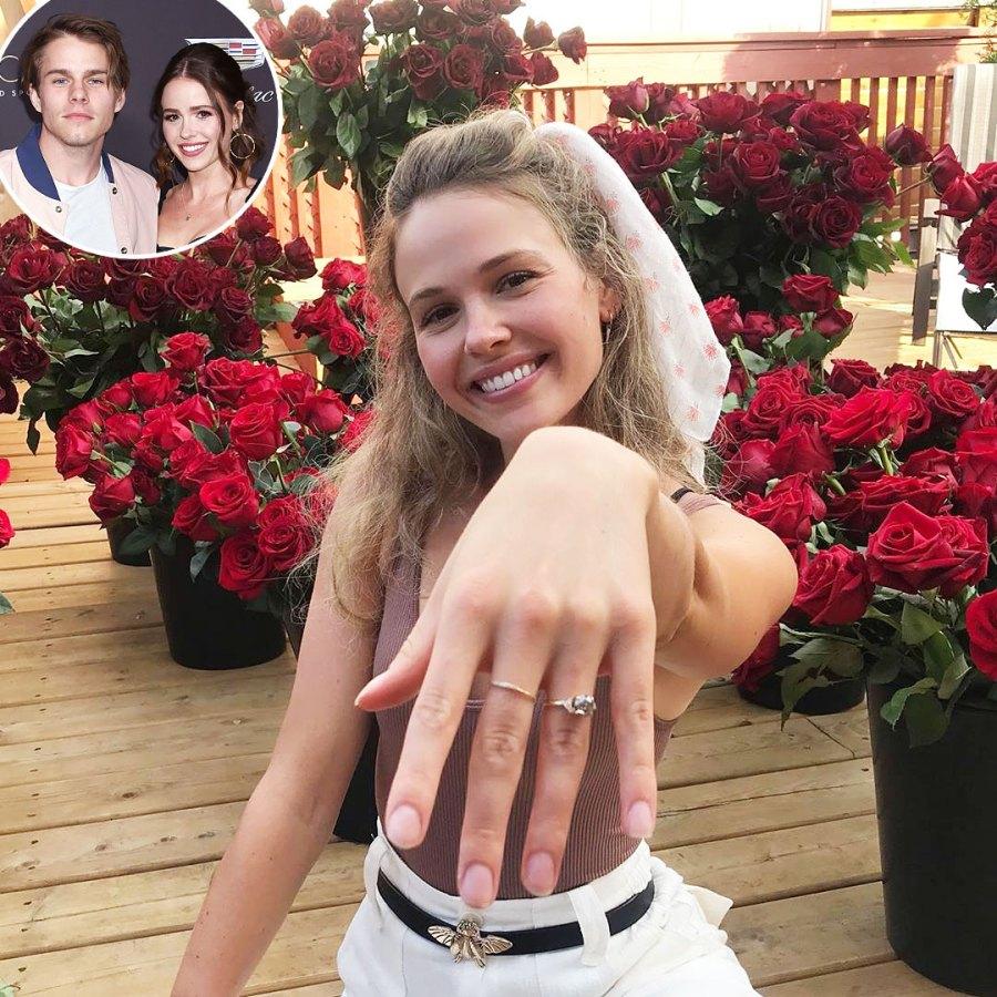 Jocelyn Hudon and Jake Manley Best Celebrity Proposal Stories Ever