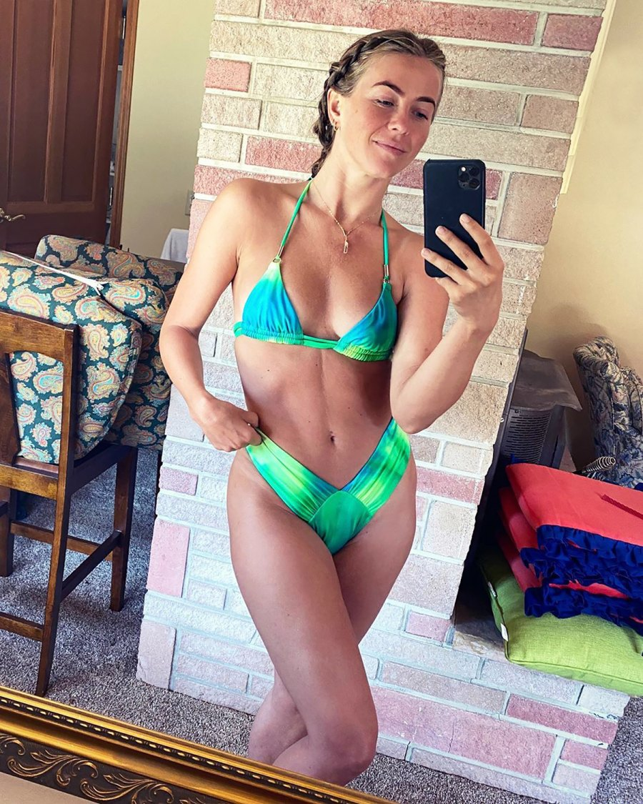 Julianne Hough's Body Looks Incredible in This Neon Bikini