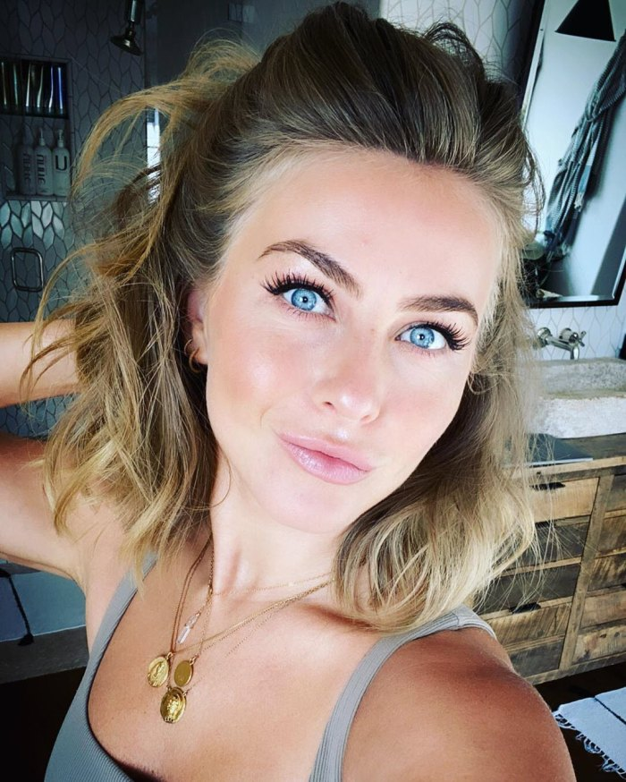 Julianne Hough Says Shes Happy Amid Brooks Laich Divorce