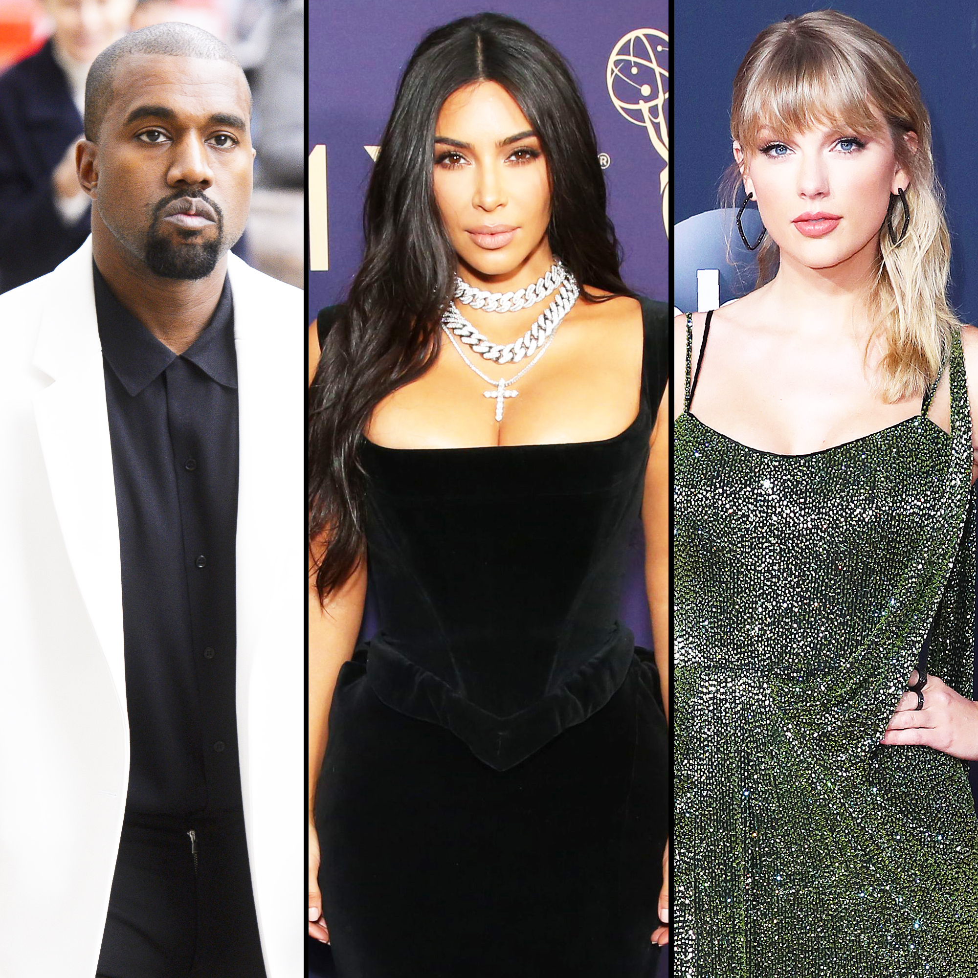 Kanye West Appears To Reference Kim Kardashian Taylor Swift Drama