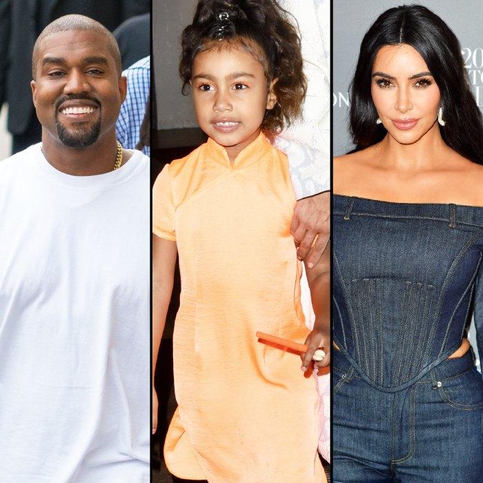 Kanye West danse avec North pendant que Kim Kardashian rit en vidéo
