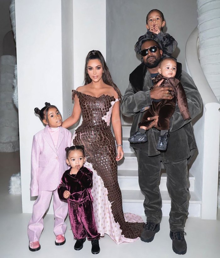 Kanye Wests In A Great Place Amid Vacation With Kim Kardashian And Kids