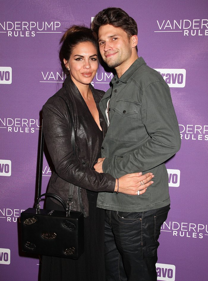 Katie Maloney and Tom Schwartz on Romance Early Beginnings