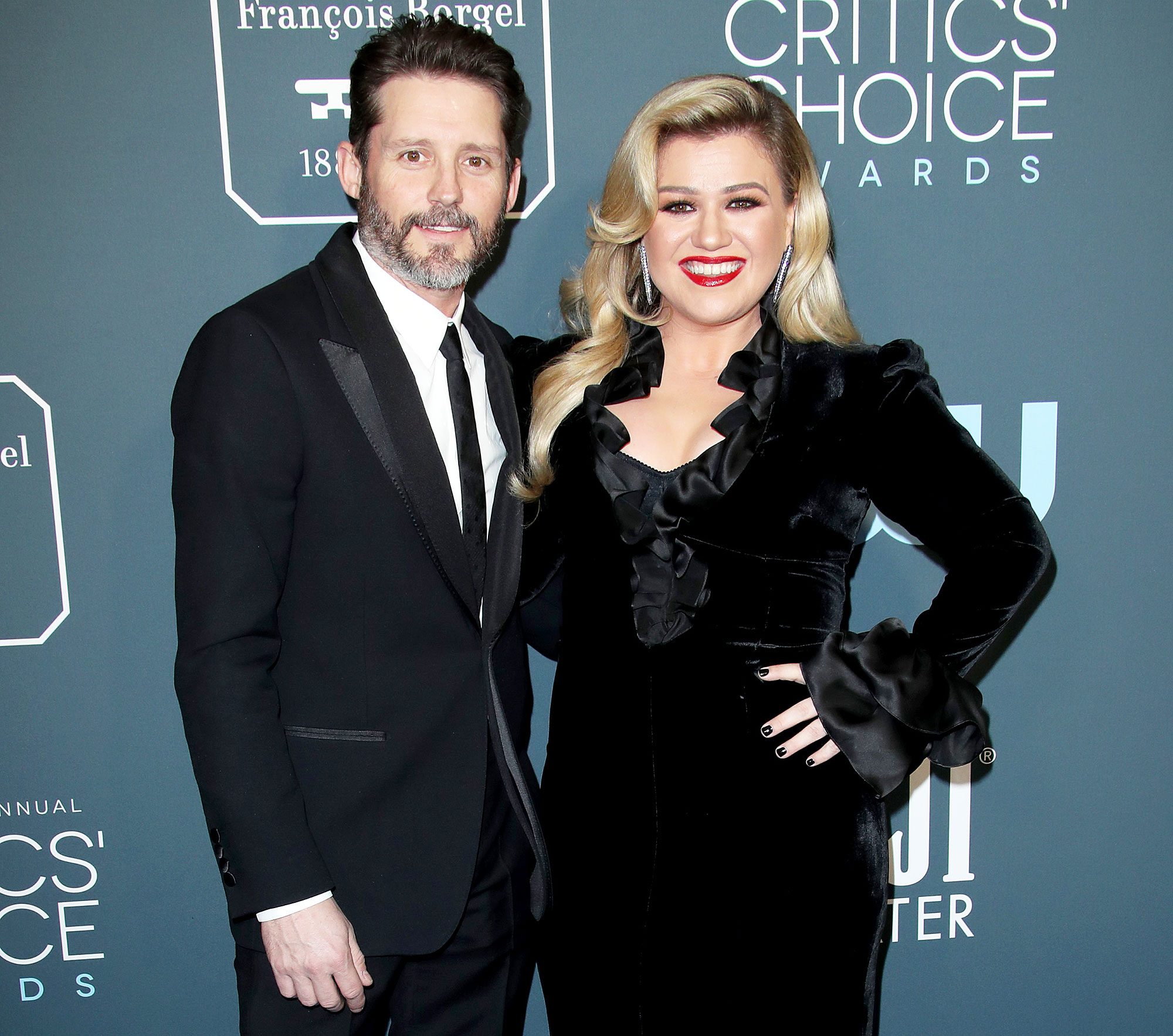 Brandon Blackstock and Kelly Clarkson attend the 25th Annual Critics Choice Awards Kelly Clarkson Claps Back at Troll Who Claims Her Marriage Didnt Work Because She Wants to Be on TV