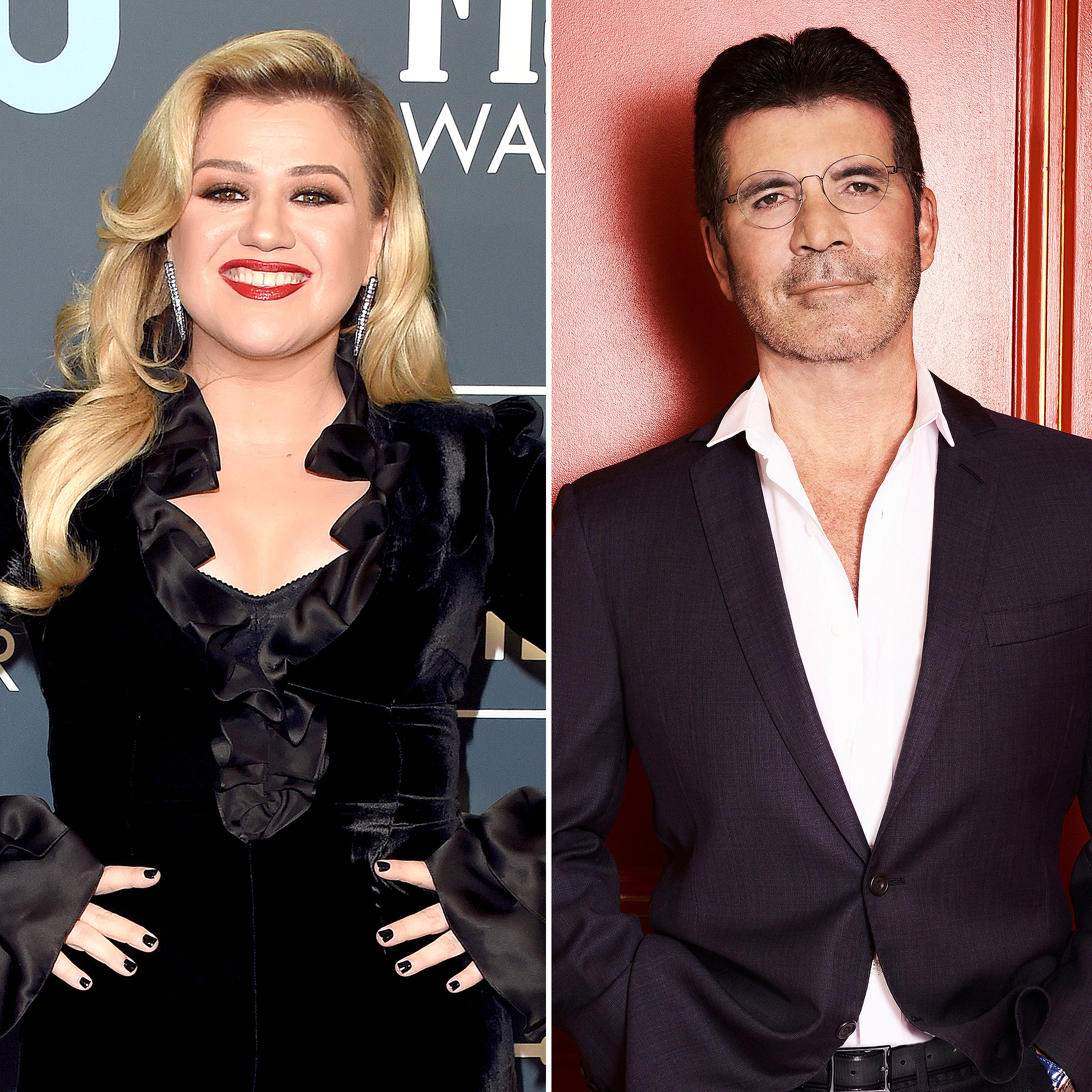 Kelly Clarkson To Replace Injured Simon Cowell On America S Got Talent