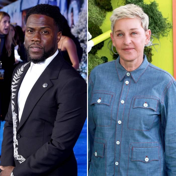 Kevin Hart Defends Friend Ellen DeGeneres Amid Workplace Scandal