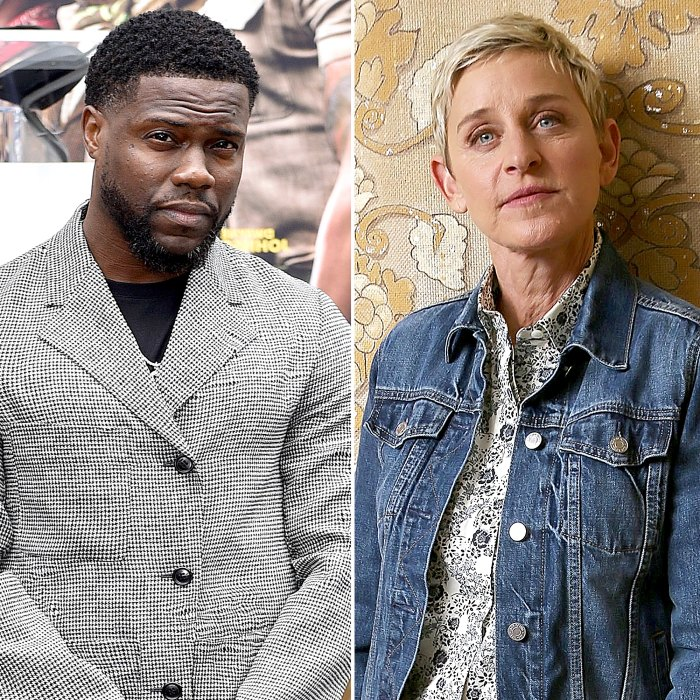 Kevin Hart Defends His Support Ellen DeGeneres Amid Talk Show Drama