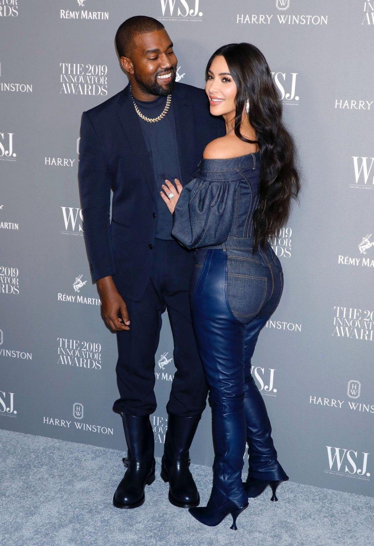 Kim Kardashian Supports Kanye West as He Resumes Sunday Service in Wyoming