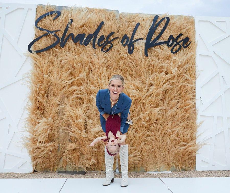 Lauren Burnham's Daughter Alessi Hits the Catwalk at Mom's 1st Fashion Show