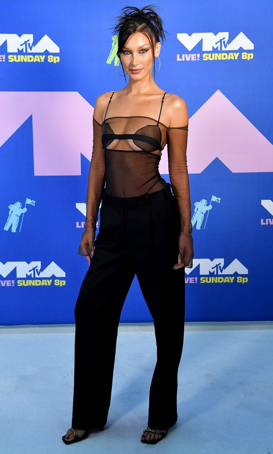 2020 MTV Video Music Awards Red Carpet Arrivals - Bella Hadid