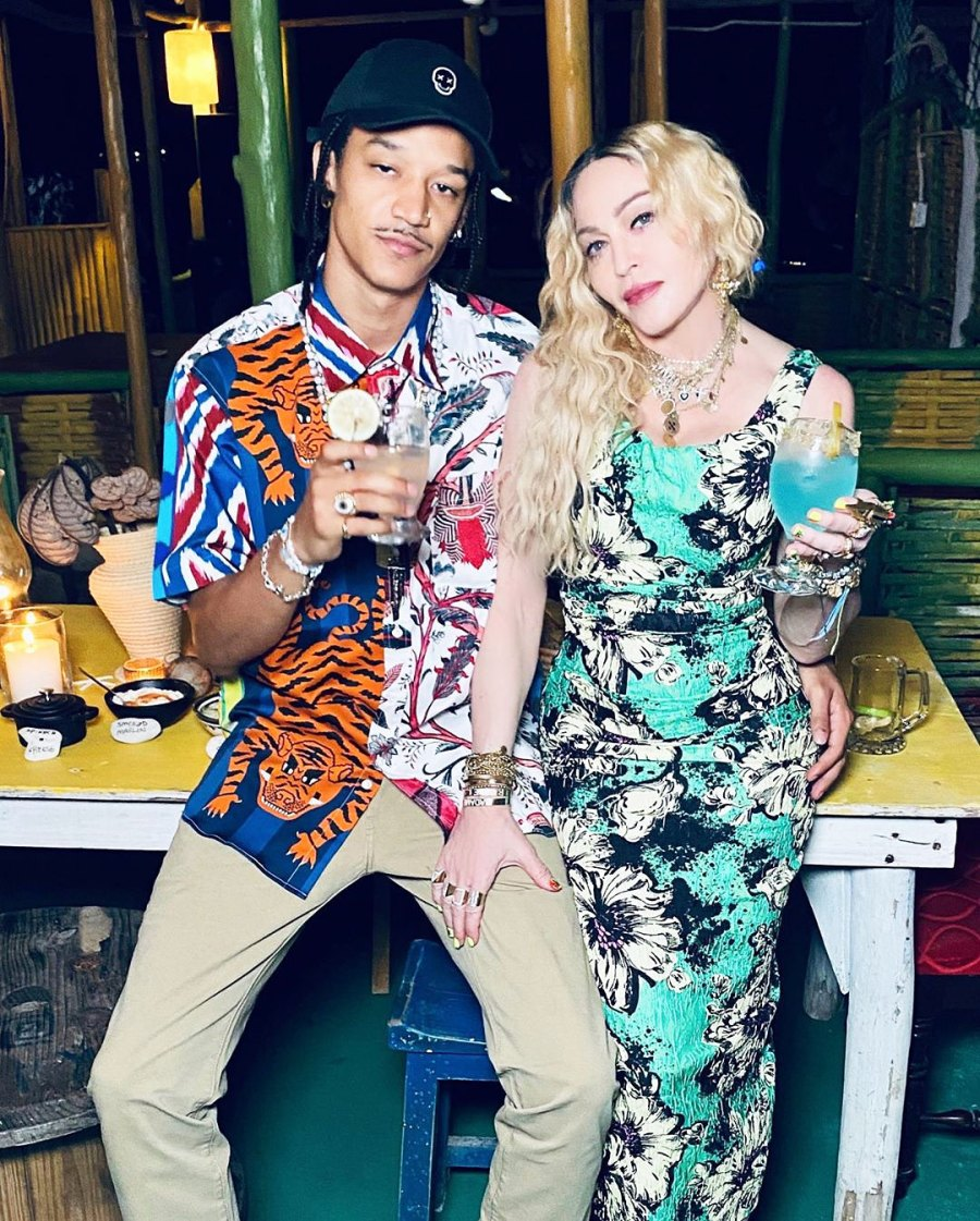 Madonna Celebrates 62nd Birthday With BF Ahlamalik Williams, Kids