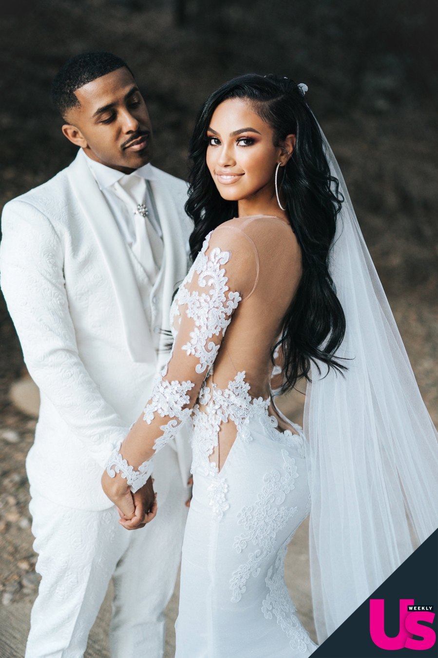 Marques Houston Miya Houston wedding