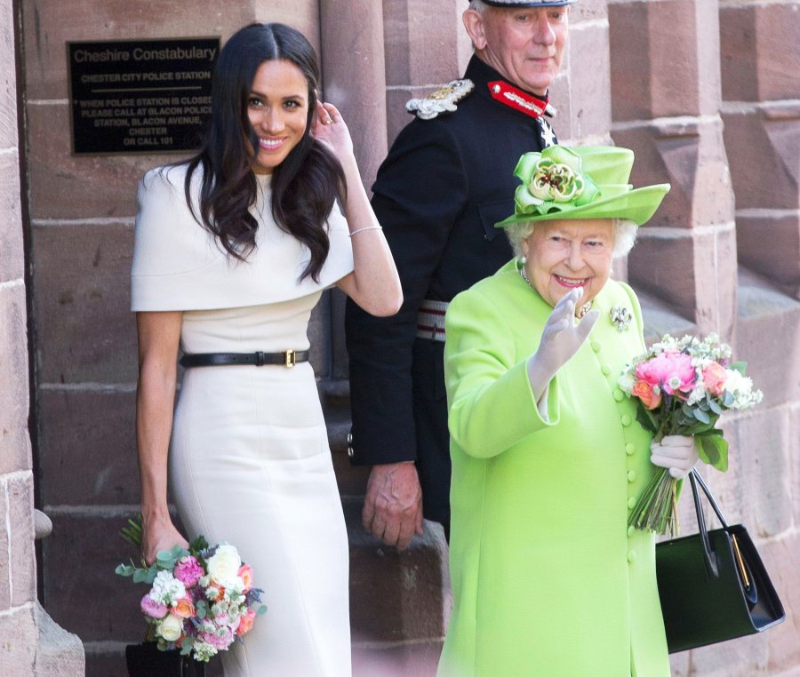Meeting the Queen Meghan Markle Prince Harry Finding Freedoms