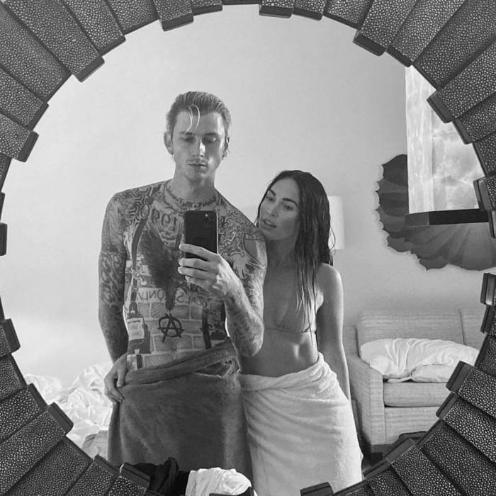 Megan Fox Tells MGK My Heart Is Yours In Steamy New Snap