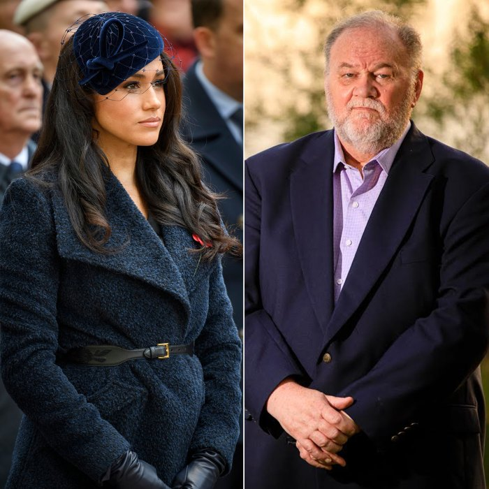 Meghan Markle Arranged Dad Thomas to Come Her Wedding Was Humiliated Didnt Show