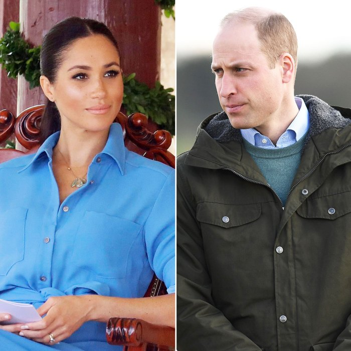Meghan Markle Thought Prince William Would Grill Her During Their First Meeting