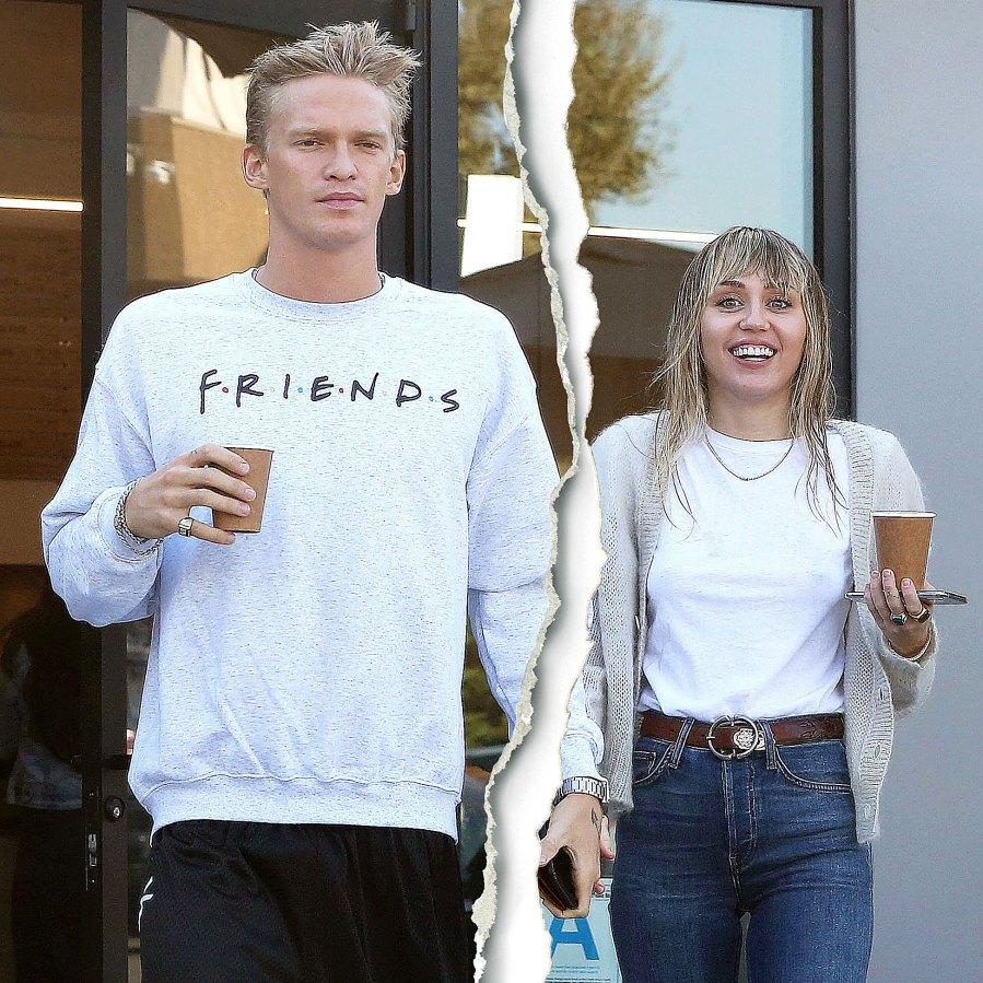 Miley Cyrus Cody Simpson Taking Break Split