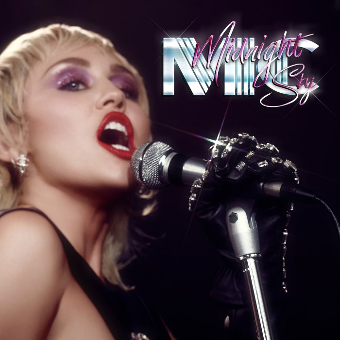 Miley Cyrus Gets Her Groove on With New Single Midnight Sky