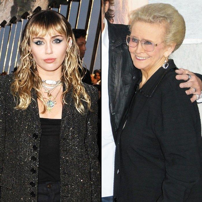 Miley Cyrus Grandma Loretta Mammie Finley Dies My Inspiration And Fashion Icon