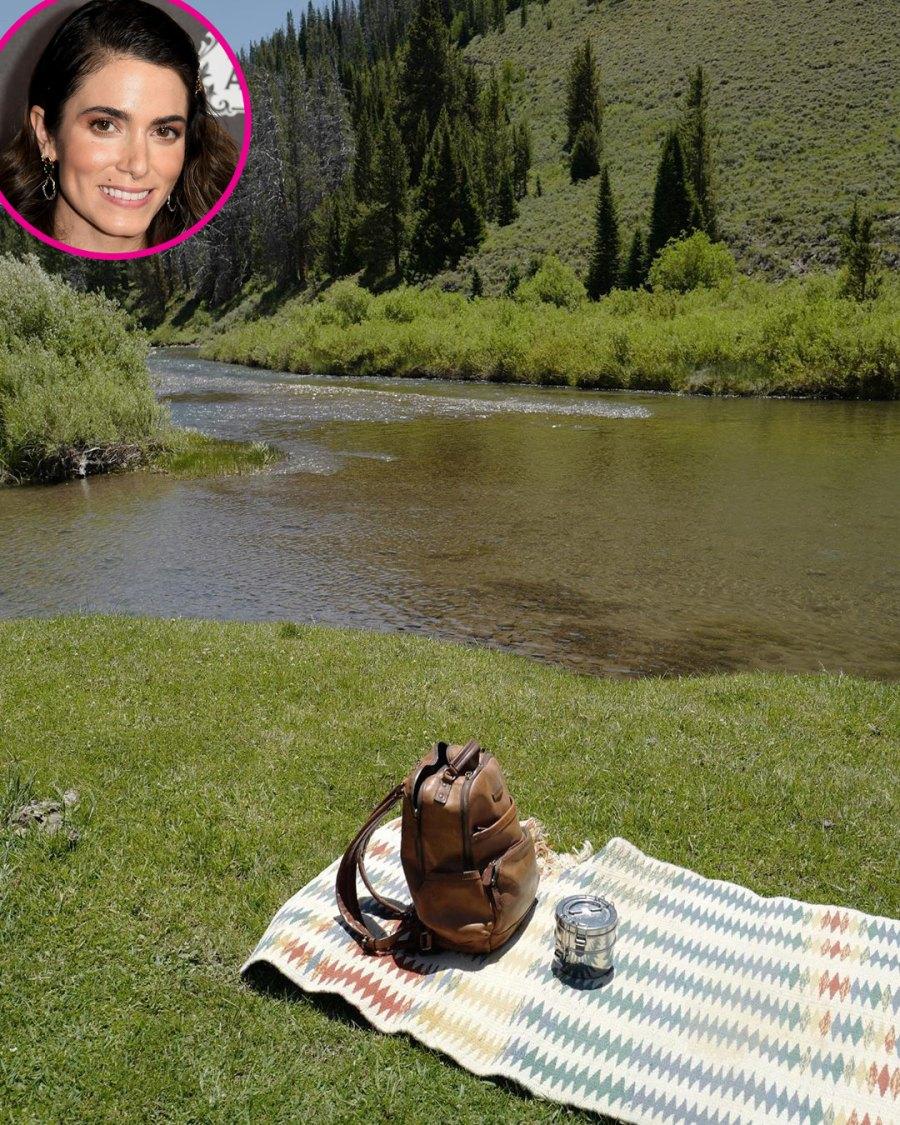 Nikki Reed picnic