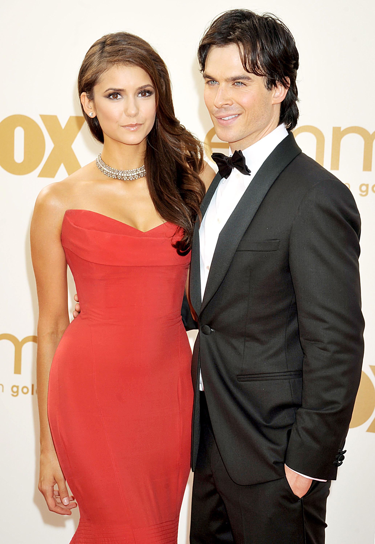 Boyfriend nina ian somerhalder dobrev Hollywood: Nina
