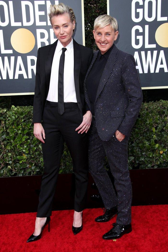 Portia de Rossi Ellen DeGeneres Fallout Golden Globe Awards