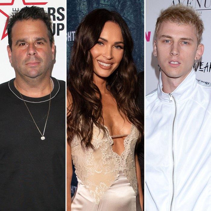 Randall Emmett Says Megan Fox Machine Gun Kelly Are Glued to Each Other